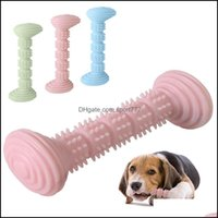 Toys Chews Supplies Home & Gardensoft Bone Chew Flexible Rubber Bite Resistant Toothbrush For Small Medium Dog Game Interactive Stick Puppy