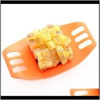Schneidvorrichtung Frites Kartoffeln Schneiden Manuelle Kartoffelschneider Küchenwerkzeuge Gemüse Obst Slicer Mischfarben M7KRC H0TA3