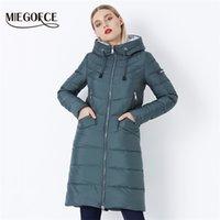 Miegofce Kış kadın Ceket Ceket Basit Kadın Parkas Sıcak Kış Kadın Ceket Yüksek Kaliteli Biyolojik-Aşağı Parkas 210901