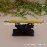 Pens Boxwood carving dragon business ball point dual purpose business gift