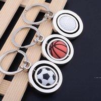 Spor Metal Anahtarlık Araba Anahtarlık Parti Futbol Basketbol Golf Topu Kolye Anahtarlık Anahtarlıklar Arabalar Aksesuarları HWB6445