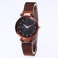 Высококачественные алмазные звездные неба Красивые Кварцевые Женские Часы Женские Часы Фахсион Женщина Повседневные наручные часы