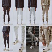 3 M Yansıtıcı Vintage Yüksek Kaliteli ESS Jogging Pantolon Erkek ve Bayan Sweatpants Moda Trendleri Tasarımcısı Lahana Nakış Yüksek Street Spor Slacks