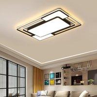 مصابيح السقف الحديثة مصابيح LED لغرفة النوم غرفة المعيشة Dimmable داخلي إضاءة تركيبات ديكورات المنزل بريق Pendente