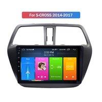 Touch Screen Android 10 Auto DVD Lettore di navigazione GPS Radio per Suzuki S-Cross 2014-2017 Sistema stereo multimediale Video audio
