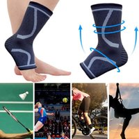 2Pcs Sports Ankle Support Brace Sprain Strap Waterproof Stab...