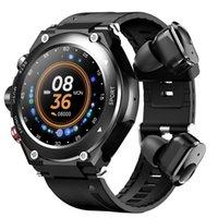 Digital Armbanduhren Uhr Bluetooth Kopfhörer 2 In1 DIY Gesicht T92 Sport Wasserdicht Smar Twatch Männer Frauen