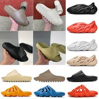 adidas kanye slides Bone Mujeres sandalia barata Kanye zapatillas de espuma de arena del desierto corredor Resina playa, mujeres, hombres Diapositivas zapatilla sandalias 36-45