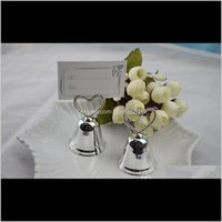 Diğer Olay Parti Malzemeleri Öpüşme Çan Düğün Yer Kart PO Tutucular Set Layxz Aikxm