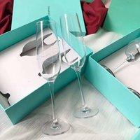 Designer Hohe Qualität Innovatives Weinglas für Hochzeitsfeierliebhaber Geburtstagsgeschenk Mode Kristall Gläser Rote Becher Cup