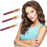 Makeup Brushes 1PCS Wooden Foundation Cosmetic Eyebrow Eyeshadow Brush Sets Tools Facial