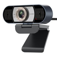 1080P Webcam with Microphone Bihuo Full HD Camera for Streaming Conference Online Teaching USB Web Cameras Desktop Mac PC laptop
