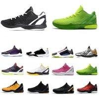2021 الأزياء الساخنة BHM Nike Kobe Bryant PROTO 6 أحذية رجالي كرة السلة 6S اعتقد الوردي الأسود ديل سول جرين الرجال المدربين الرياضة في الهواء الطلق رياضية