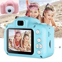 Bambini Camera Giocattoli Studenti Portatile Digital Digital Digital Immagini Bambini Compleanno Bambino Giorno dei bambini Regalo Sea FWC7350