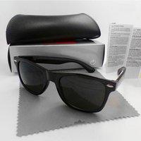 الفاخرة مصمم نظارات uv400 شاطئ خمر أزياء الرجال النساء الرياضة نظارات الشمس النظارات الرجعية مع صندوق وحالات