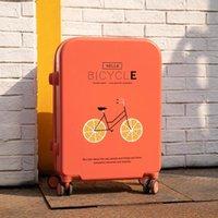귀여운 신선한 여행 짐 ins net red pc lovely trolley 가방 가벼운 비밀 번호 상자 학생 세련된 valise 가방에 휴대