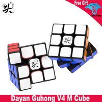 Dayan Guhong v4 Cubo Magnético 3x3 Profissional Dayan Velocidade Cubo 3x3x3 Presentes de Brinquedo Educacional Magnético para Cubo Mago