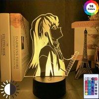Night Lights Led Light For Bedroom Decor Gift Nightlight Anime 3d Lamp Muichiro Demon Slayer Tokito