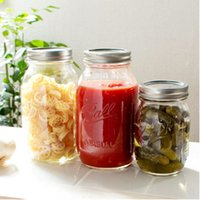 American Ball Mason Jar стекло герметичная банка варенья бутылка овощной овощной ореховой ореховой гайке