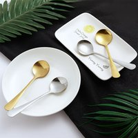Daily Use Department Store Small Commodity Domestic Western food spoon stainless steel spoon