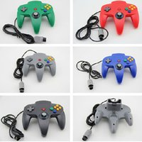 N64 game console handle USB vibration PC Nintendo 10 color controller wholesale unlimited age material ABS_test02
