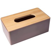 Tissue Boxes & Napkins Box Environmental Protection Home Container Towel Napkin Holder Case For Office Decoration