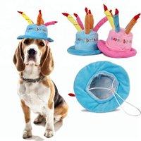 Hundebekleidung Lustige Happy Birthday Cake Shape Cap Haustierhüte