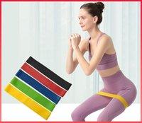 Устойчивые полосы Йоги Ремень Фитнес-полоса Высокая Натяжение Мышца для Обучения Лодыжки Ноги HW012003