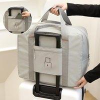 Duffel Bags 2021 Oxford Foldable Travel Unisex Large Capacity Storage Bag Women Waterproof Handbag Tote Men Business Luggage