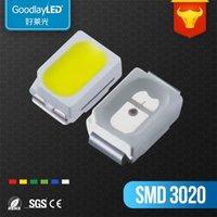 Paski 1000 sztuk / białe światło / czerwony / szmaragd / żółty zielony / żółty / niebieski 3020 smd led dioda lampa błyskowa
