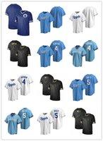 2021 Astro Мужчины Женщины Молодежь Пустой Бланк 4 Алекс Гордон 5 Джордж Бретт Пользовательские Бейсбол Джерси Пустая реплика Альтернативный синий белый серый