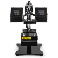 Isı Transferi Makineleri CK3815 12 cm Çift ED Plakaları Manuel Rosin Basın Makinesi Profesyonel Herb Yağ Balmumu Çıkarma Aracı OCZB