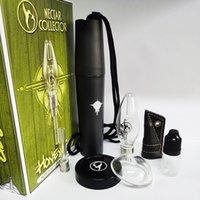 Honigbird Nektar-Sammler-Kits mit Titan-keramischen Quarzspitze Mini-Glasrohröl-Rig-Dab-Bong-Wärme nicht Burn-Kit