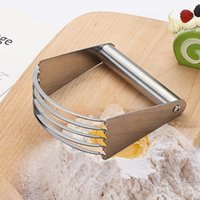 Baking & Pastry Tools 1Pc Dough Blender Flour Mixer Stainless Steel Kitchen Blades Manual Confection Durable Butter Cutter Bakewae