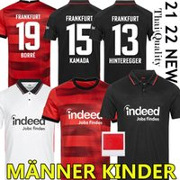 21/22 Франкфурт Франкфурт Фрэнкфурт-навертывающая футбол для футбола Heater Sow Seilva Kostic Jovic Футбол 2021 2022 Hasebe Kamada Hinteregger NDicka Men Kids Kit Uned
