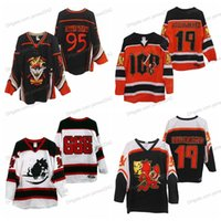 Personalizzato 5XL 6XL Pagliaccio Clown Posse 95 Rotton Treats Hockey Jersey Hallowicked Hallowicked Hallo-Acut Blach Il ricamo ratto cucito