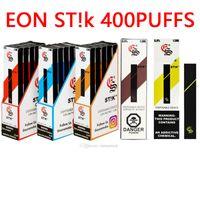 Top Quality Eon Stik Jetable Vape St! K 18Colors E Cigarettes Disponible 280mAh Batterie 1.3ml 400buffs VS Bar XXL Bang