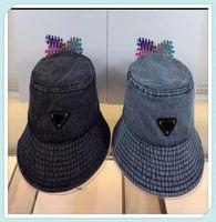 Designer di lusso Donna Bucket Cappello Cappello Bonnet Mens Flat Beanie Gorro Denim Wide Brim Cappelli Sole Caps Casquette Firmati Mütze DQ 21041902tdq