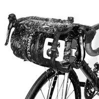 NEWBOLER Waterproof Bike Bag Bikepacking Handlebar Bag Front Tube Cycling Bag 15L 20L MTB Frame Trunk Road Bicycle Accessories