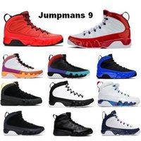Jumpman Baloncesto Zapatos 9 9s Hombres Cambian el Mundial Motor Jones Dream University Gold Gym Gym Racer Blue OG Green Atletic Trainers Sneakers