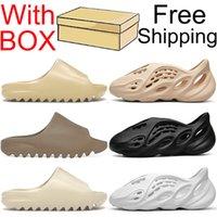 kanye slides sandals slippers shoes diapositivas zapatos zapatillas para hombre mujer sandalias zapatillas de deporte de espuma para niños zapatillas de interior al aire libre