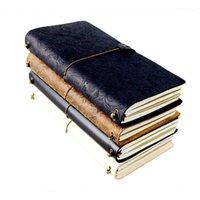 لا شيء خمر الجلود غطاء دفتر فارغة يوميات ورقة ملاحظة كتاب استبدال المسافر المفكرة القرطاسية الموردين R201