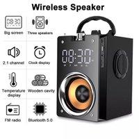 Süper Bas Bluetooth Hoparlörler Taşınabilir Sütun Yüksek Güç 3D Stereo Subwoofer Müzik Merkezi Desteği AUX TF FM Radyo HIFI Boombox