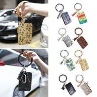 Elegante Chave Chaveiro Saco Novidade Chaveiro Bracelete Liga Pu Tassel Multifuncional Storage Ferramentas Excelentes D7YA Chaveiros