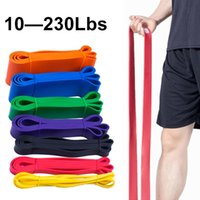 Resistance Bands Unisex Fitness 208cm Rubber Yoga Band Pilates Elastic Loop Crossfit Expander Strength Gym Exercise Equipment