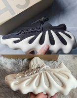 450 سحابة كريم أبيض أسود كاني الاحذية أحذية رجالي إمرأة V2 إزعفل الرجال أسرييل ساكنة حذاء رياضة عاكس مع صندوق الحجم 36-45