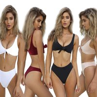 womens fashion dresssexy double wrapped chest two-piece Beach swimsuit 4 colors 3 yards 3IBX