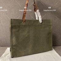 Klasik büyük marka alfabetik tuval alışveriş çantası deri omuz askısı dikiş büyük kapasiteli tote paketi rahat banliyö paketleri bilgisayar çanta