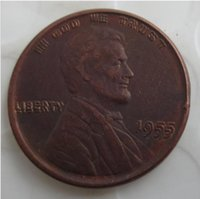 US One Cent 1955 Double Die Penny Copper Copy Coins metal craft dies manufacturing factory Price sfdf