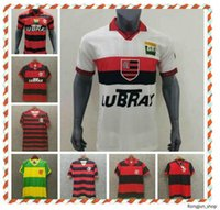 1982 1988 1990 2008 Retro CR Flamengo Futebol Jersey Flamengo Flamengo Camisa S-2XL